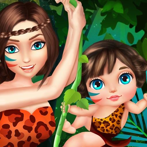 Pregnant Jungle Mommy - Baby Care Simulator iOS App