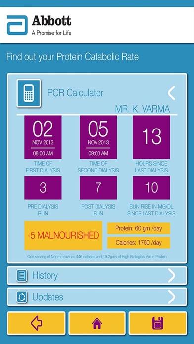 Abbott Nutrition - Nepro nPCR Calculator App-3