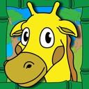 Coloring Animal Zoo Knopfdruck Farbe Aktivität Malbuch für Kinder ...