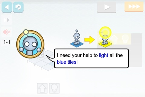 Lightbot : Programming Puzzles screenshot 2