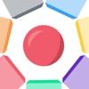 Crazy Hexagon - A Super Color Matching Game