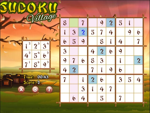 Sudoku Village - Train your Brain-ipad-2