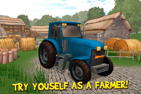 USA Country Farm Simulator 3D Full screenshot 1