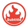 Subtitle Burner visualhub srt