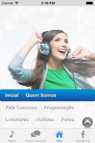 Rádio Web Ótima screenshot 2