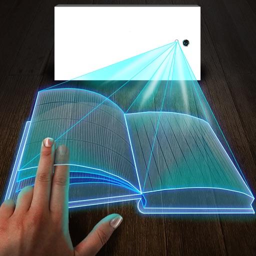 Hologram 3D Book Simulator iOS App
