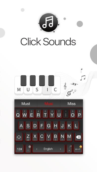 TouchPal клавиатура - создайте свою темами, шрифтами и эмодзи Screenshot