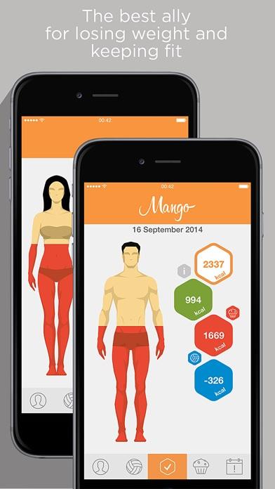Mango - Calories Counter & Diet Tracker Screenshot