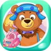 小熊出行安全 早教 儿童游戏