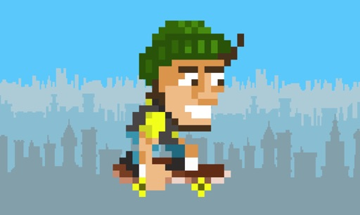 Retro Skate Arcade Game iOS App