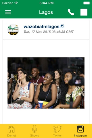 Wazobia FM screenshot 2