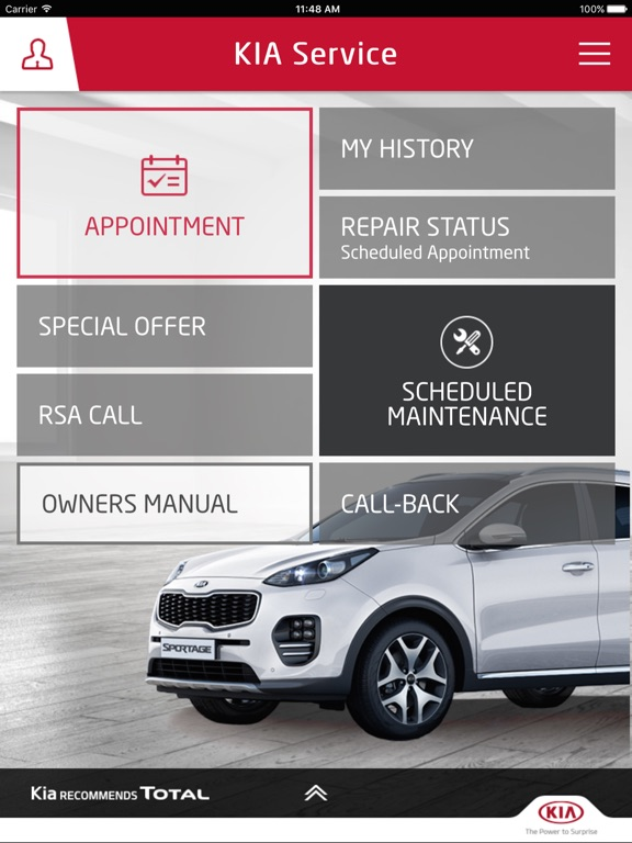 Kia Service Official App On The App Store