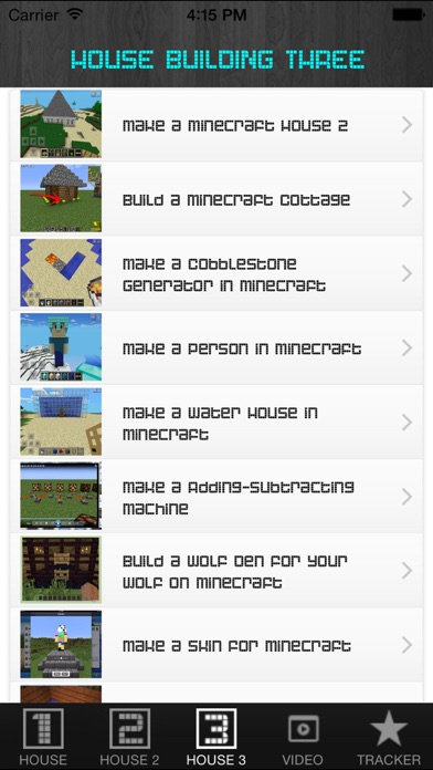 Screenshots of Free House For Minecraft PE (Pocket Edition). for iPhone