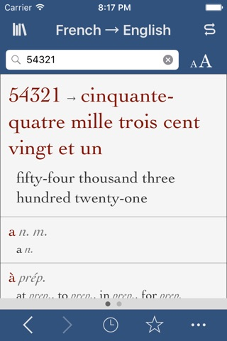 French-English Translation Dictionary and Verbs screenshot 3