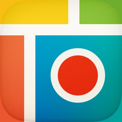 Pic Collage-かわいい&簡単な無料人気写真作成アプリ! 透過画像や動画をLayout,グリッドで編集,シェアで恋人と楽しもう!