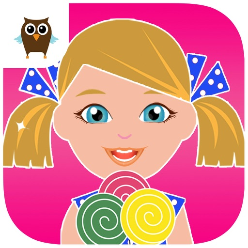 Candy Treasures - Candy Maker, Dress Up & Matching Fun Icon