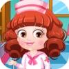 Cute baby infirmière - robe art & Défilé de petits uniformes de princesse