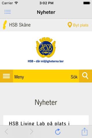 HSB Skåne screenshot 4