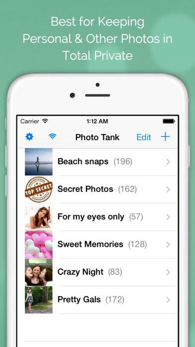 Screenshot #7 for Photo Tank FREE - Lock Photos with Passcode