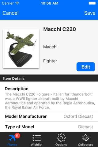 Model Plane Collectors screenshot 2