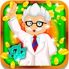 High-Tech Slot Machine: Run the most science experiments and earn daily prizes
