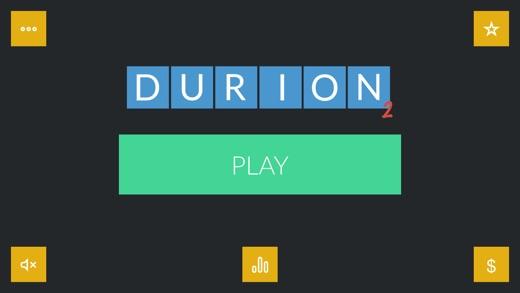 Durion 2 - addictive word game Screenshot