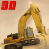 City Road Construction Crane Machine Operator 3D Simulator