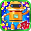 Lucky Alien Robots Slots: Free daily gold coins and lottery prizes