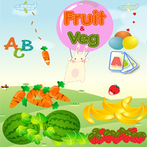 Education Learning For Kids Using Flashcards and Sounds iOS App
