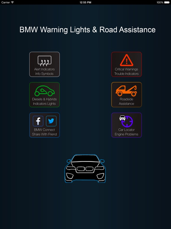 App For BMW Warning Lights  Car Problems On The App Store - Warning signs in bmw cars