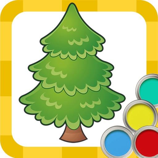 Páginas para colorear de año Nuevo y Navidad libro para niños y ...