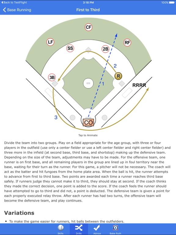 Go Coach Baseball screenshot 7