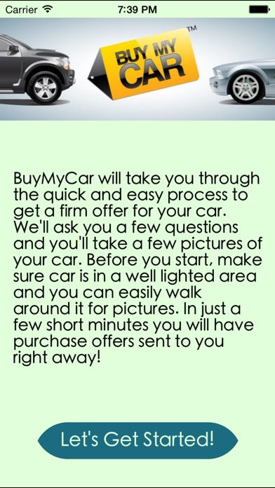 Buy My Car On The App Store