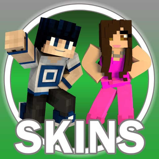 Girl and Boy Skin PE - Best Skins for Minecraft iOS App