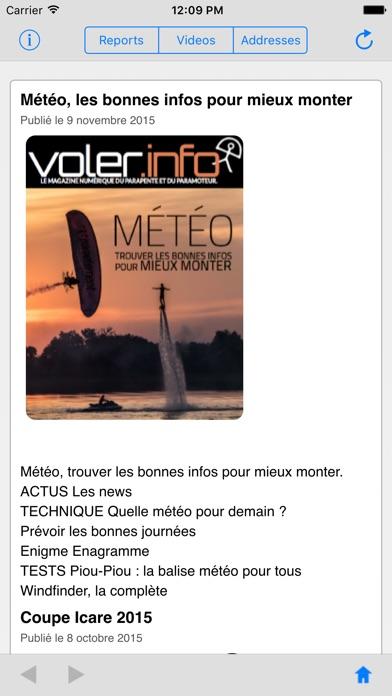 voler.info II magazine parapente paramoteurCapture d'écran de 1