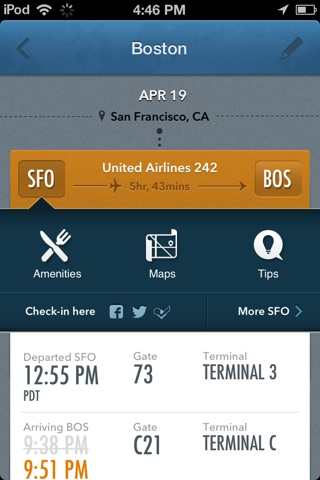 GateGuru, Airport Info & Flight Status screenshot 2