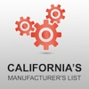 California's Manufacturer's List Pro