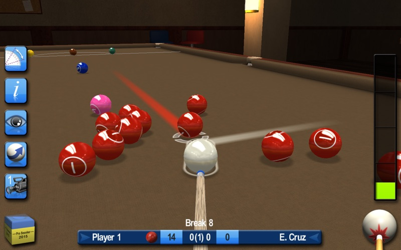 Pro snooker pool 2017 door iware designs ltd for Pool design mac