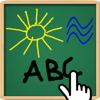 Zeichnen für iPad - schriftlich, Färbung, bekannt für Kinder