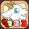 Wise Goat Numbers Full - numbers, math and counting for kids point numbers