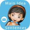 Main Idea - Sentences: Reading Comprehension Skills & Practice Game for Kids - Common Core Aligned: School Edition