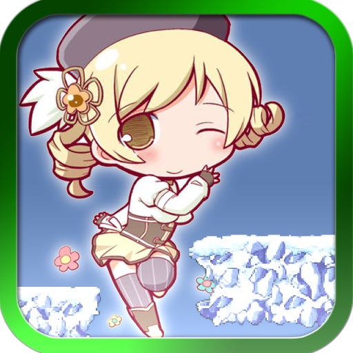 Anime Character Jump - Free Running Game iOS App