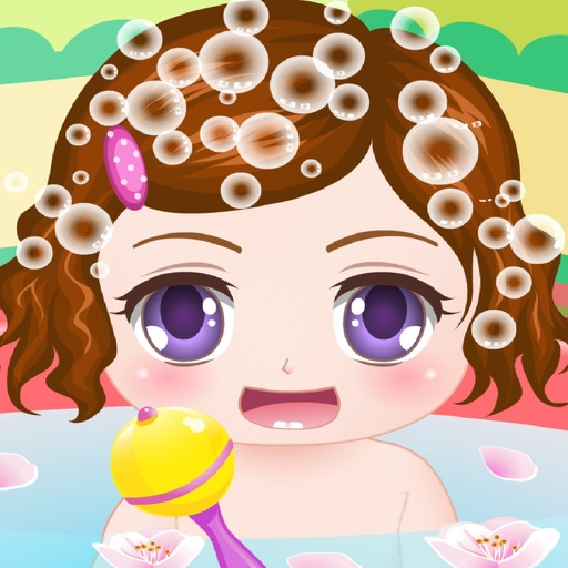 Cute Baby Bathing Game - The hottest kids baby bathing game for girls and kids! iOS App