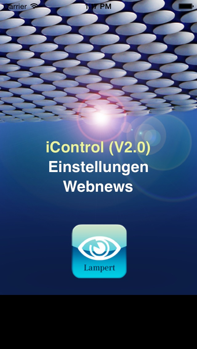 Screenshot von iControl21