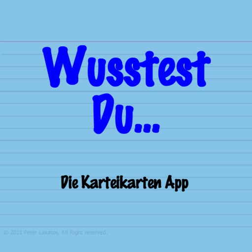 Wusstest Du... iOS App