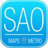São Paulo Guia de Viagem com Mapas Offline Hotel e Restaurant