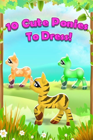 My Pet Pony - The Little Unicorn Dress Up & Makeover Game Free screenshot 2