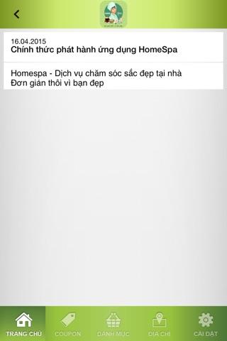 HomeSpa - Làm Đẹp screenshot 3