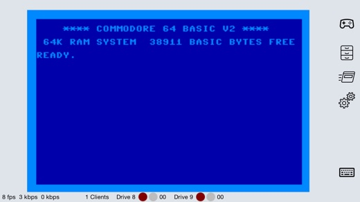 YACE64 Controller Screenshot