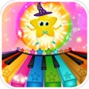 Twinkle Twinkle Little Stars - Animated Musical Nursery Piano for Kids